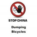 "EBMA ""Stop China Dumping Bicycles""-Logo."