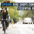 People for Bikes: »Bike shops considered essential business.«