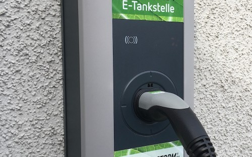 Greenstorms E-Tankstelle Wallbox (22 kW).