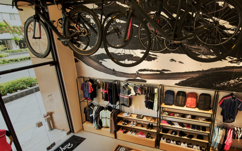 Rapha Store in Osaka