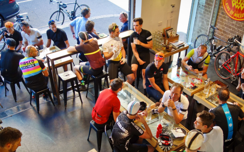 Rapha Cafe in Sydney