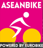 Aseanbike powered by Eurobike Logo.