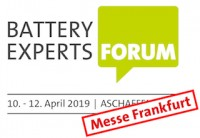 Battery Experts Forum 2019.
