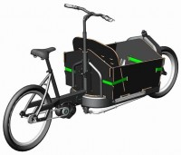 E-Bike Manufaktur FR 8 mit Continental Revolution-Antrieb.