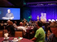 Pat Hus beim Interbike Indsutry Breakfast 2017 in Las Vegas
