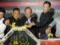 Team Fairly/President Percy J. Chien, company founder & chairman Masao Chien and Vice president Steve Chien.