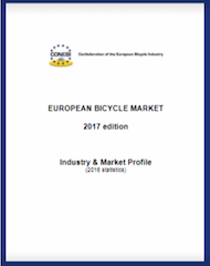 CONEBI's »European Bicycle Industry & Market Profile 2017«