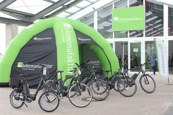 cycle union startet e bike roadshow mit 100 h ndlerstopps. Black Bedroom Furniture Sets. Home Design Ideas