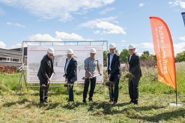 zedler gruppe baubeginn f r das neue firmengeb ude radmarkt. Black Bedroom Furniture Sets. Home Design Ideas