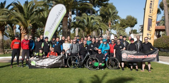 Cycle Union E-Bike Testcamp Mallorca 2018.
