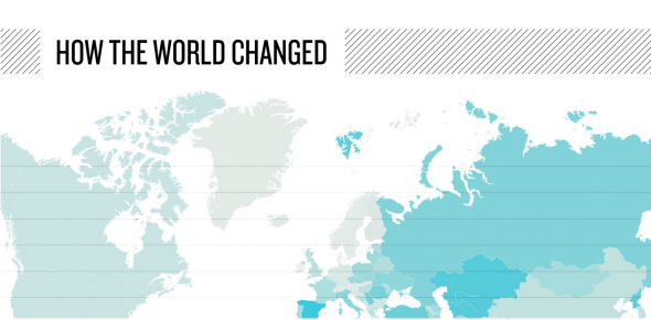 Garmin »How the world changed».