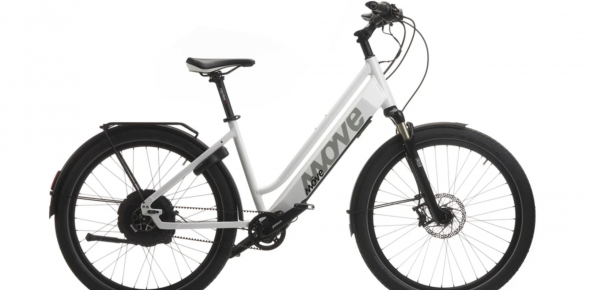 Möve E-Bike-Modell »E-Fly UP R Lady´s« mit »Cyfly«-Antrieb.