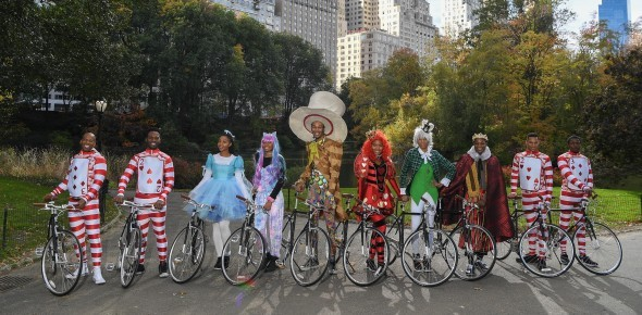 »The Mad Hatter's Rally« in Manhattan