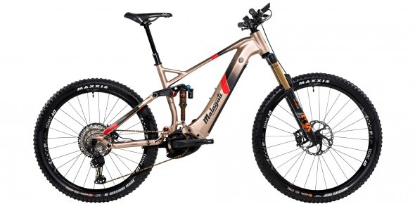 Malaguti E-Bike MTB-Fully »Superiore LTD«.